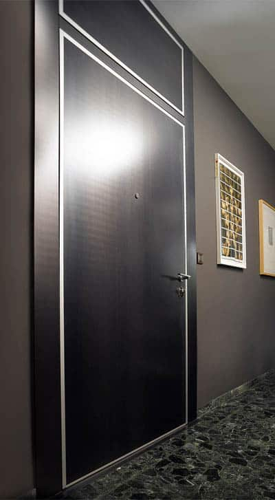 Porte blindate e pannelli bauxt topchiusure vicenza - Guarnizione porta blindata ...