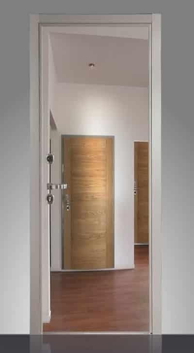 Pannelli e rivestimenti porte blindate topchiusure vicenza - Porta a specchio ...