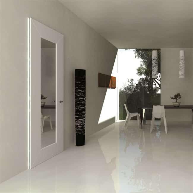 Levita dimond specchio porte per interni blindate e - Porte a specchio per interni ...