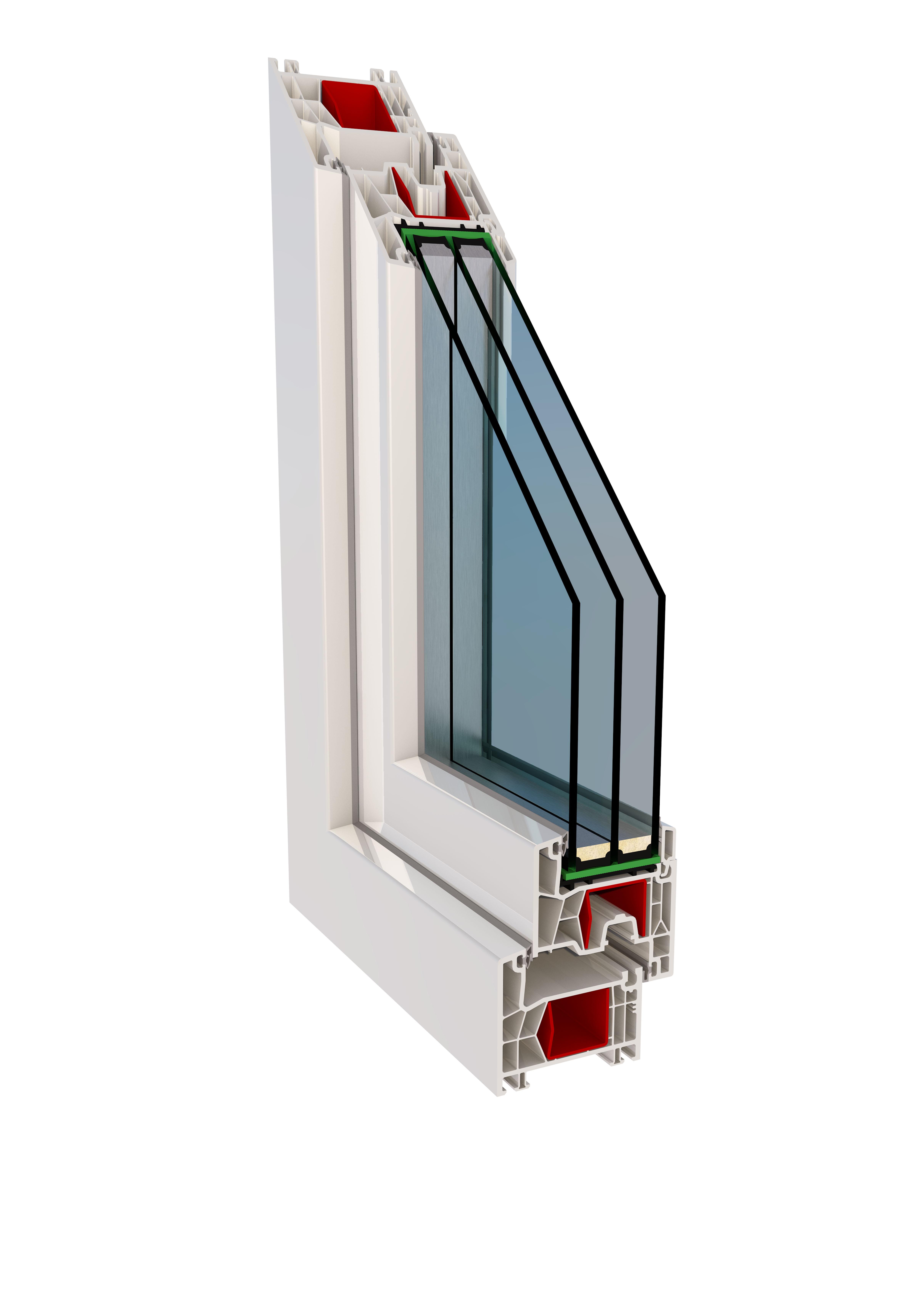 Serramenti in pvc porte per interni blindate e for Pvc per serramenti