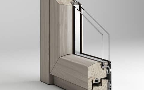 serramenti in legno Angolare Aphrodite Plus