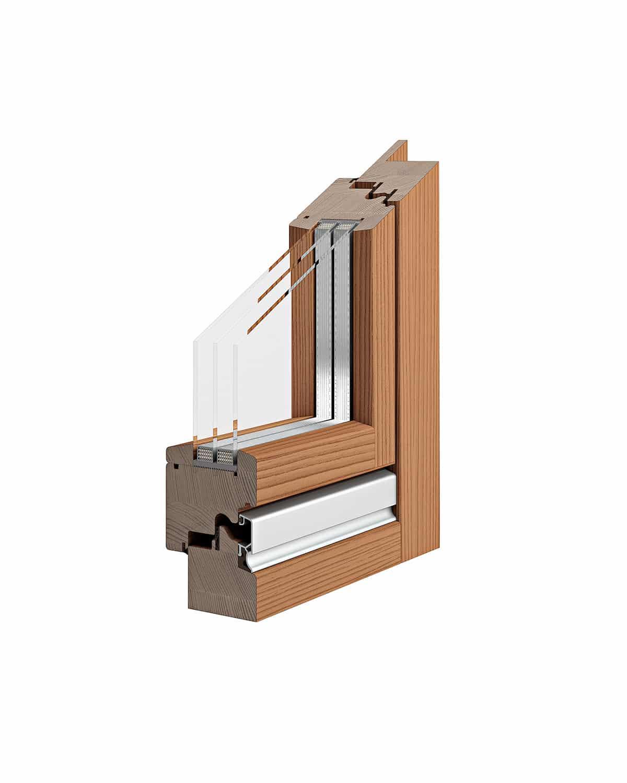 Serramenti in legno porte per interni blindate e - Porte e finestre vicenza ...